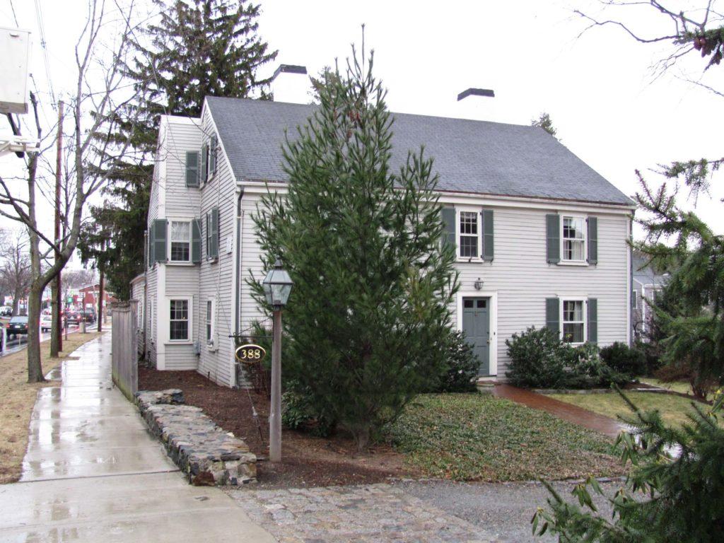 Abraham hill house