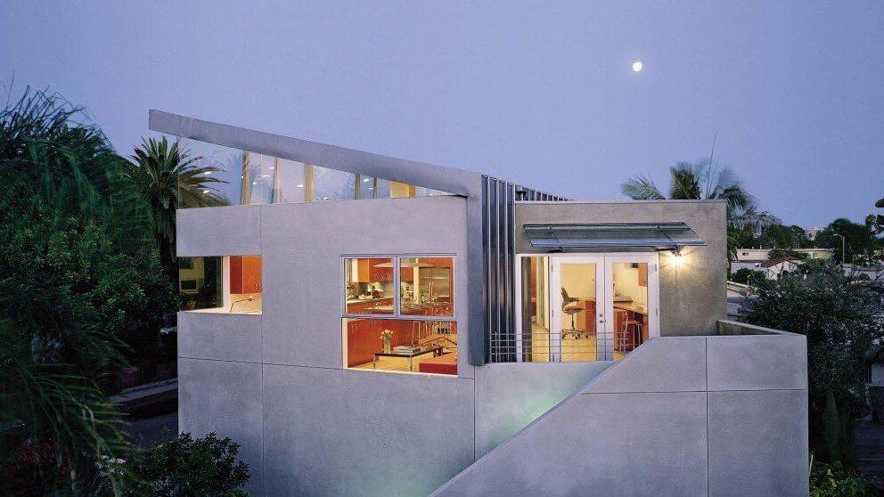 Robert Reck's canopy home