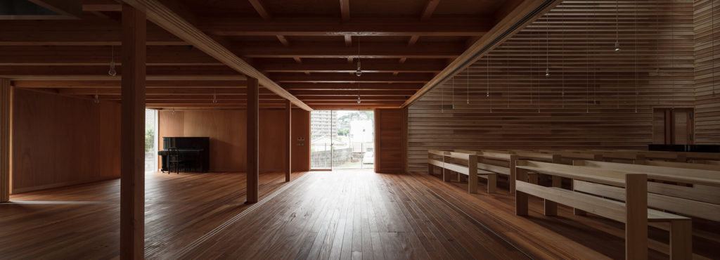 Wood used in Japanese architectures