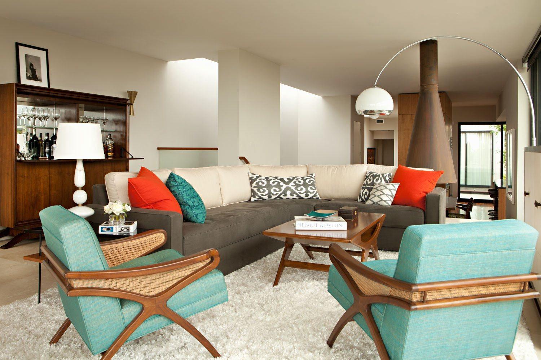 mid century interior design