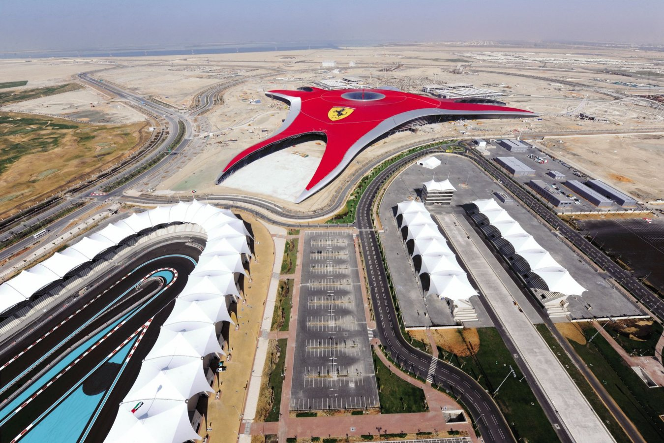 construction of Ferrari world