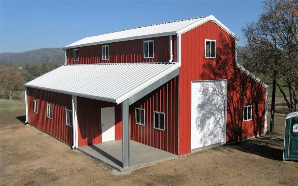 metal building homes