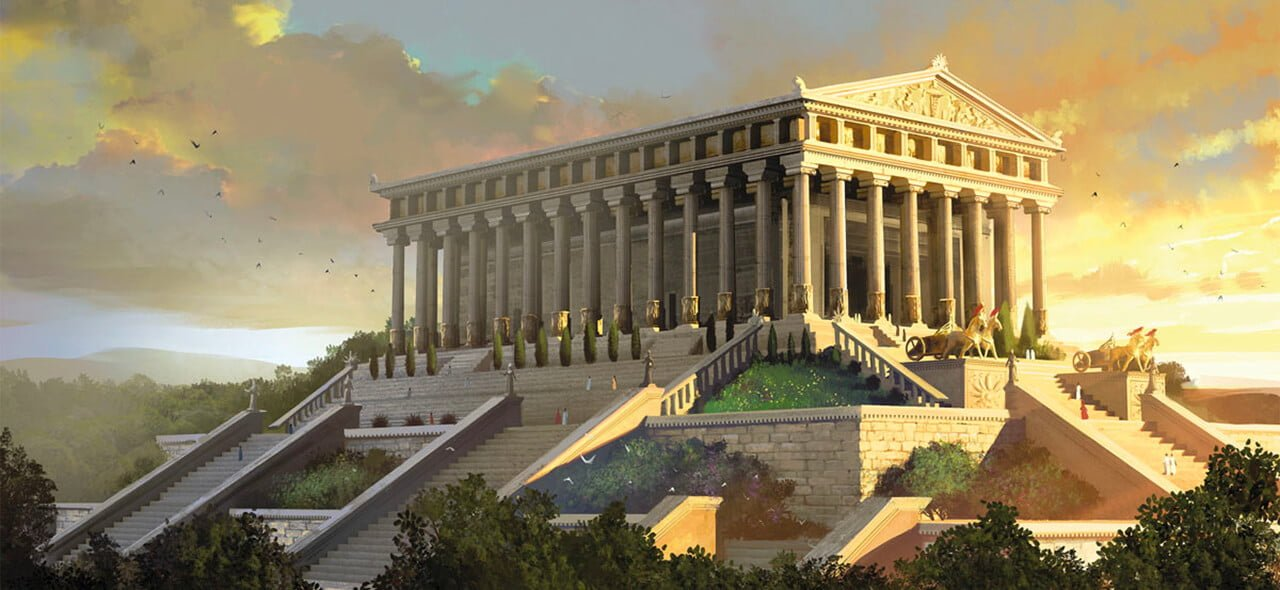 Seven Wonders Of The Ancient World - Temple Of Artemis