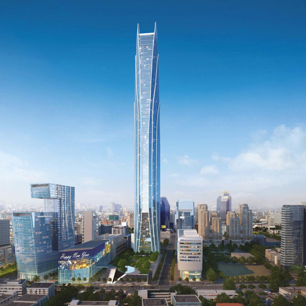 tallest buildings under construction