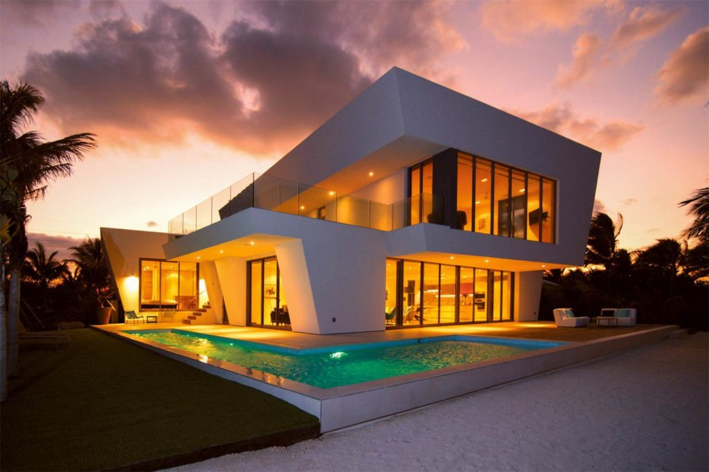 The Ultra-Contemporary Beach House