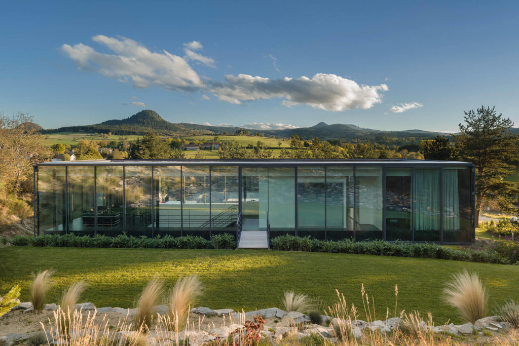 glass house architecture