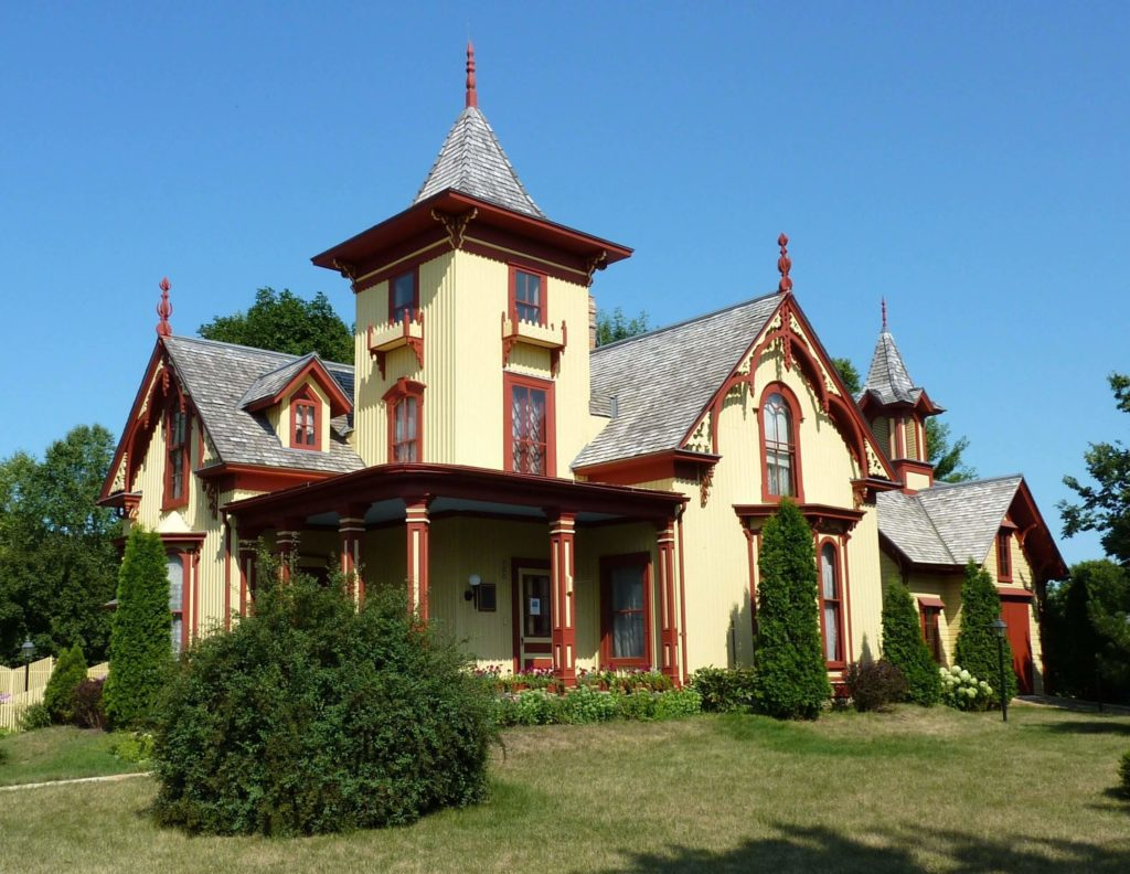 Gothic Revival style house