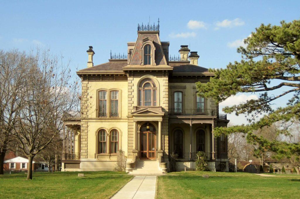 Italianate style house