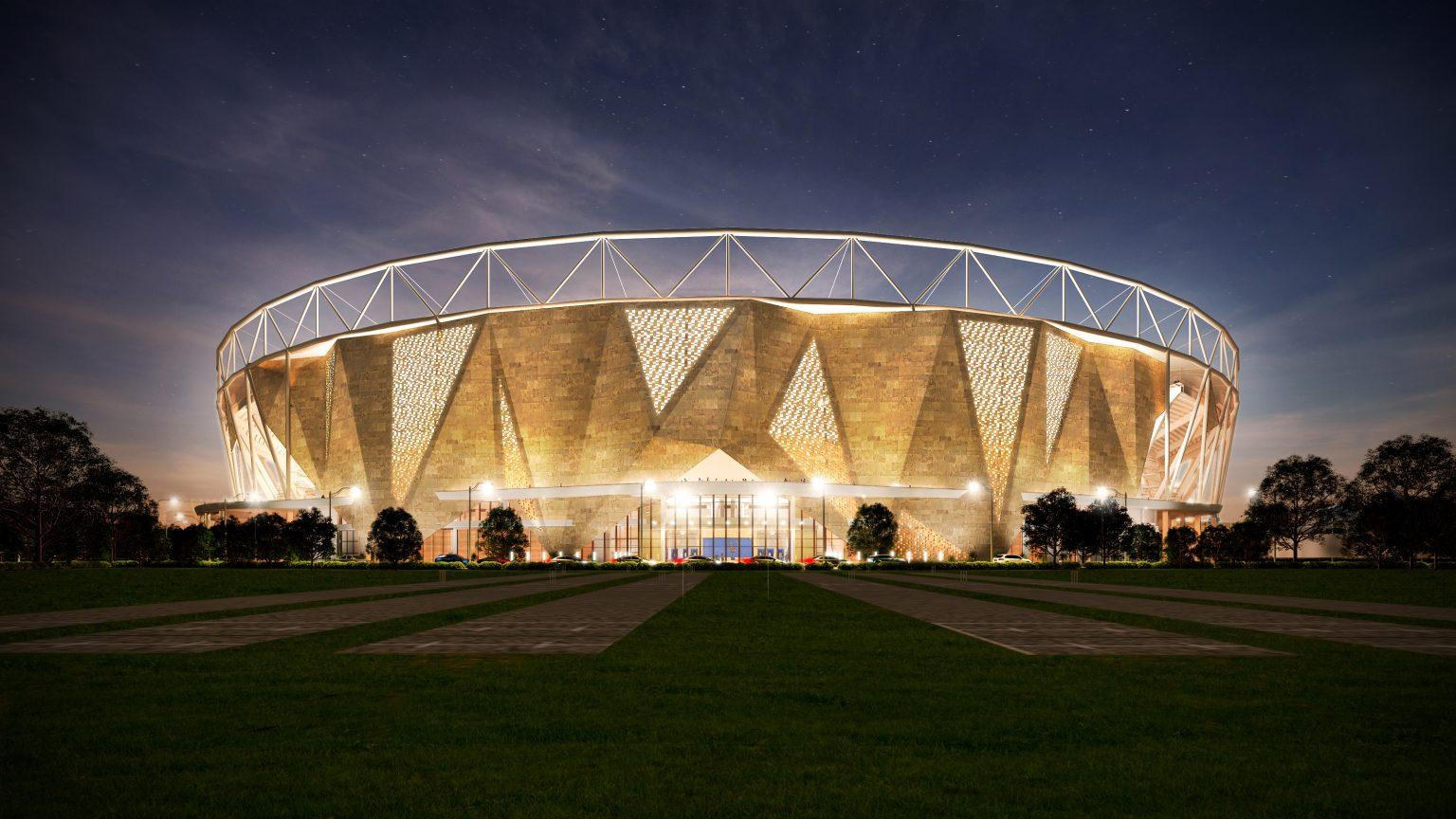 motera stadium architecture