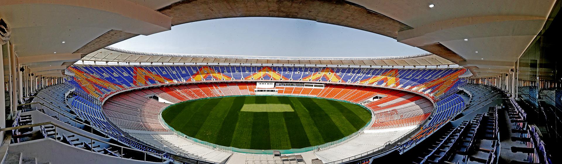 Motera stadium full look