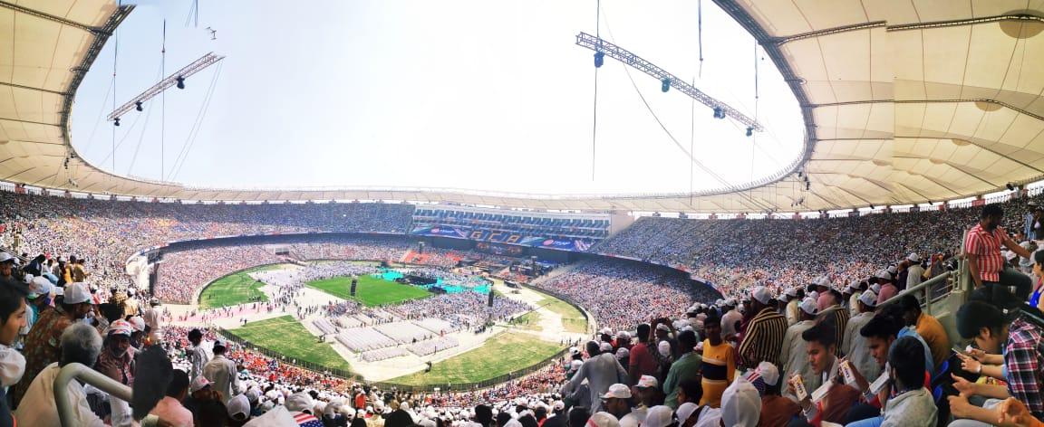 motera stadium inside