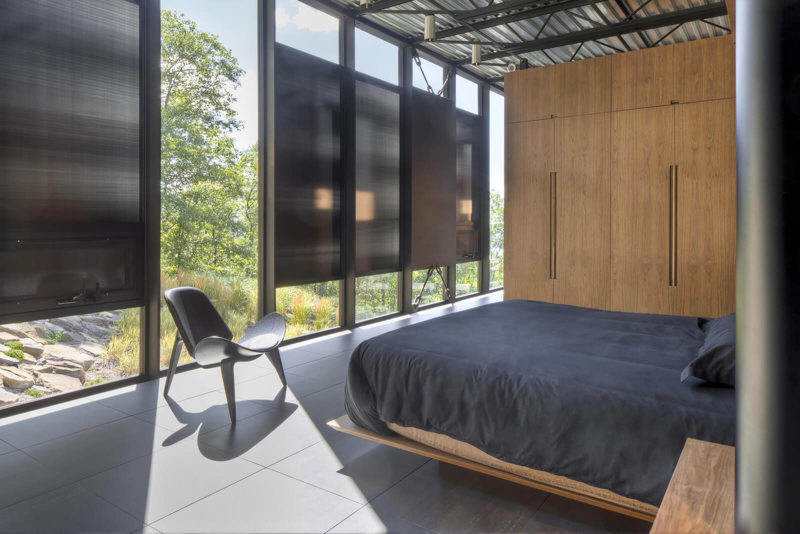 bedroom interior of shokan house