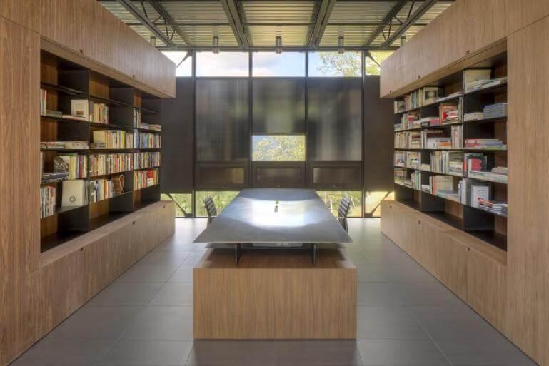 interior library area
