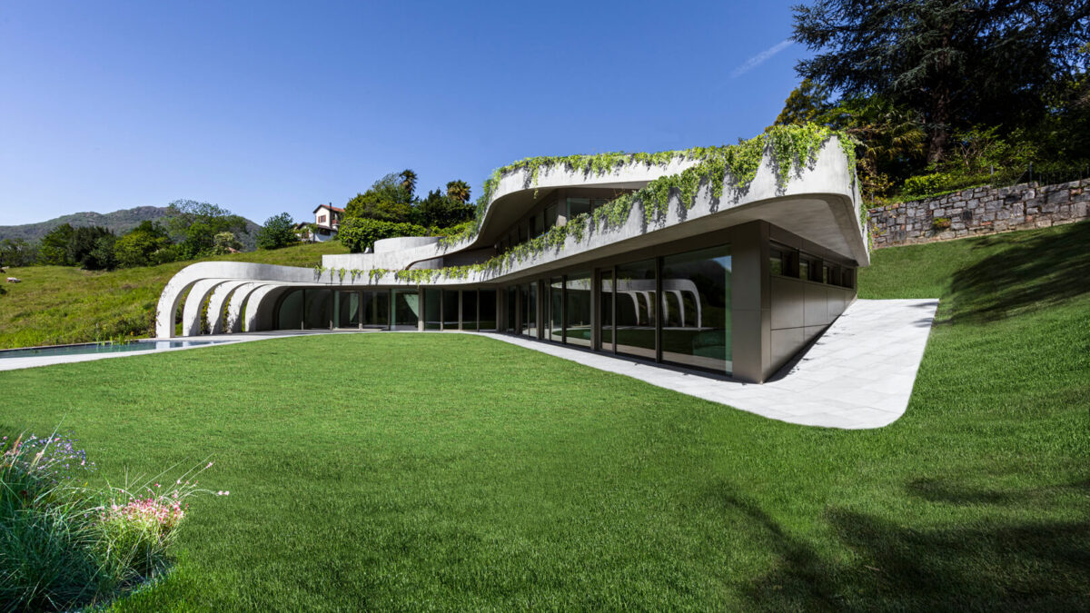 Atelier Alice Trepp By Mino Caggiula Architects: A Unimaginable Structure