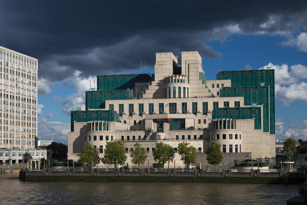 MI6 building, London