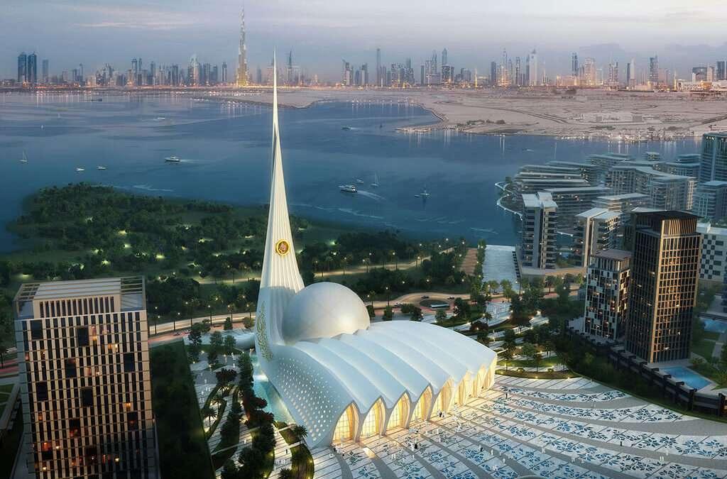 Crescent – The Iconic Mosque in Dubai by Design Plus Architects & Rat[LAB] Studio!