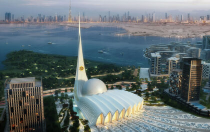 ‌ ‌The‌ ‌Iconic‌ ‌Mosque‌ ‌in‌ ‌Dubai‌ ‌
