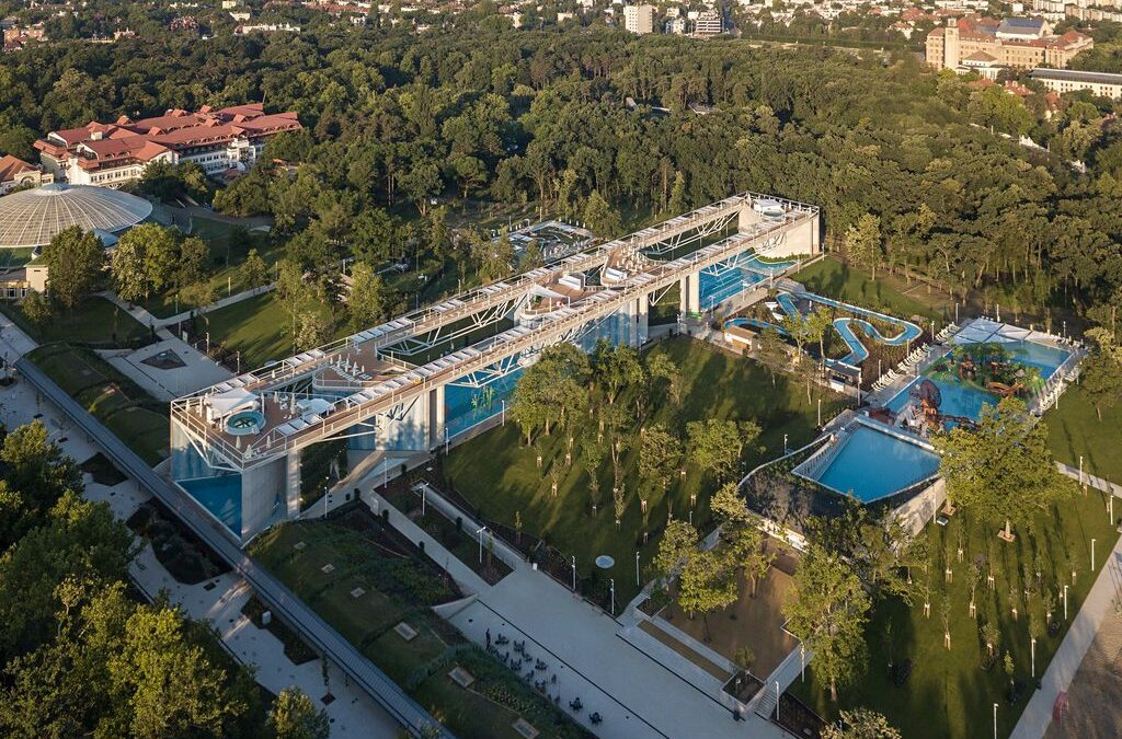 Aquaticum Waterpark in Debrecen: A Waterpark With Incredible Architecture!