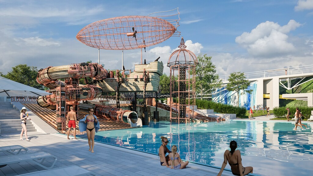 Aquaticum Waterpark in Debrecen