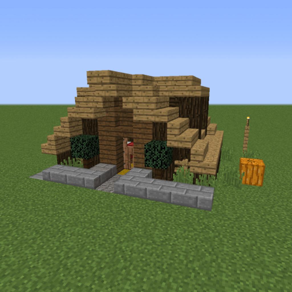 minecraft survival house