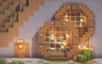 Minecraft Mountain House