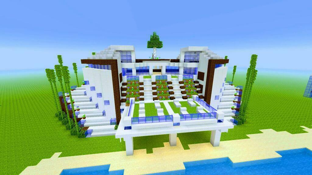 beach house minecraft