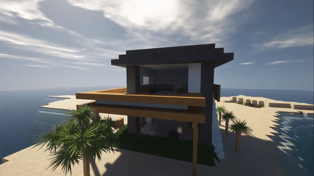 An Easy Step by Step Minecraft Beach House Tutorial!