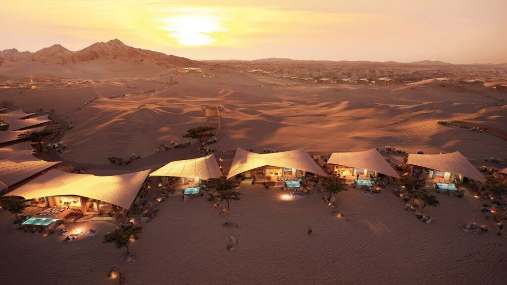 Southern Dunes Hotel: The Red Sea Project by Foster + Partners