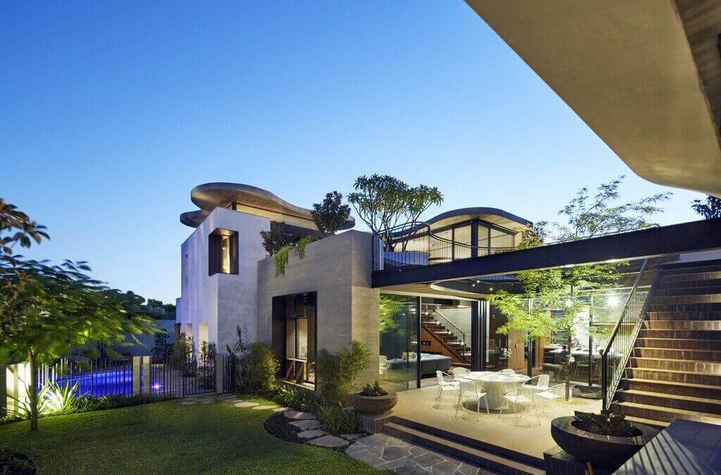Roscommon House By Neil Cownie Architect in Floreat, Australia!