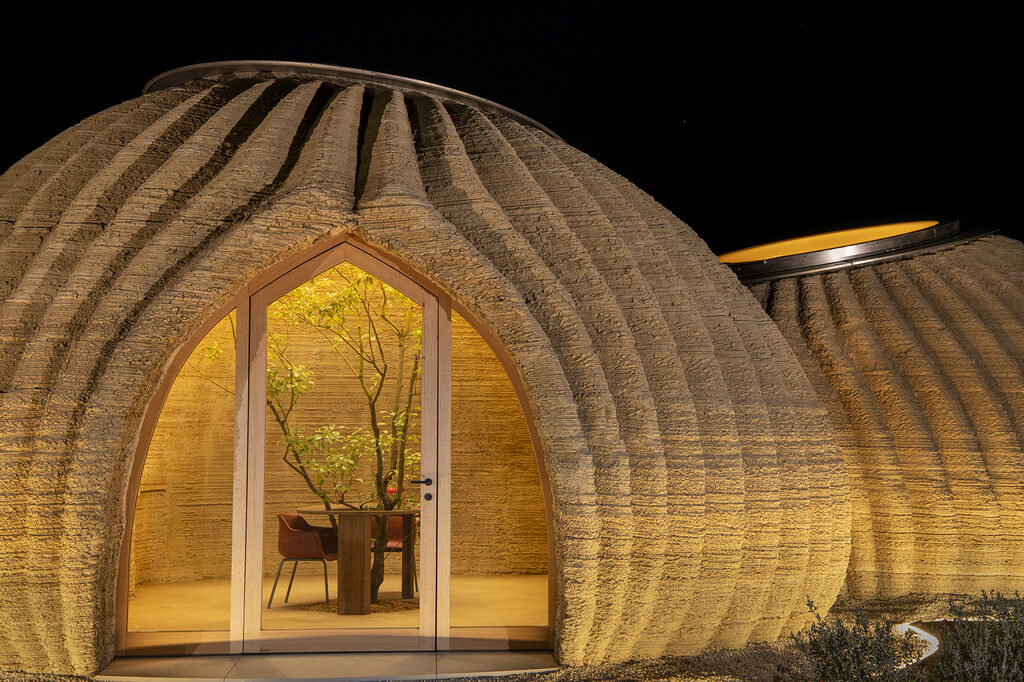 Clay 3D Printed House