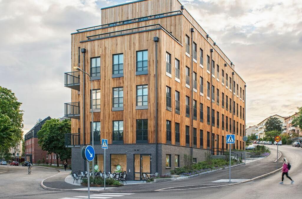 Flora Apartments: A Modern Construction By Belatchew Arkitekter in Sweden!