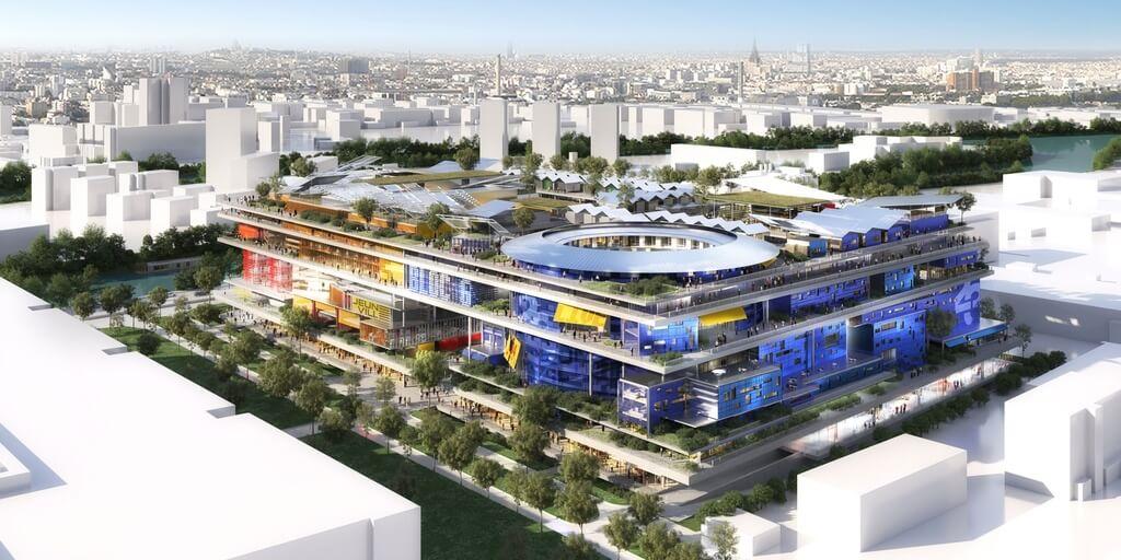Jeuneville: A Futuristic, New Vertical Neighbourhood in Paris by Jean Nouvel!