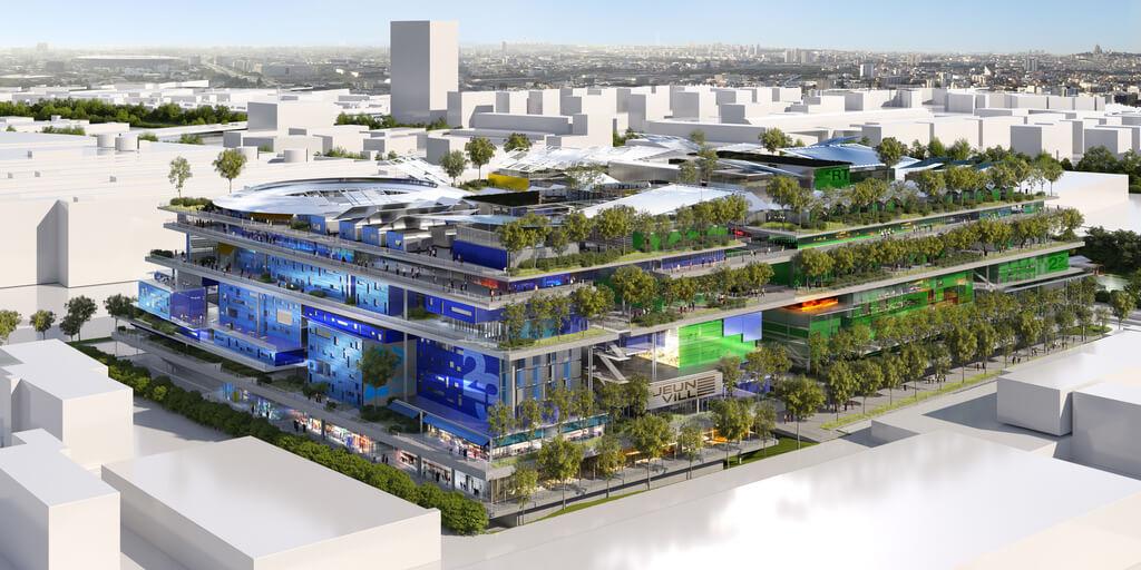 New Vertical Neighbourhood in Paris