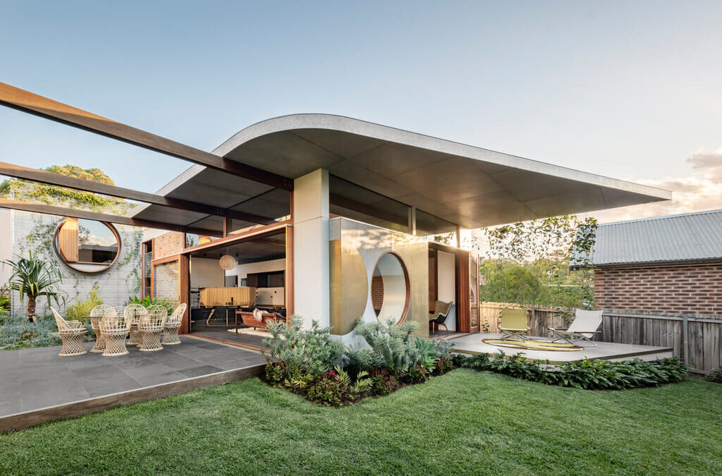 The Exquisite Totoro House By CplusC Architectural Workshop in Sydney, Australia
