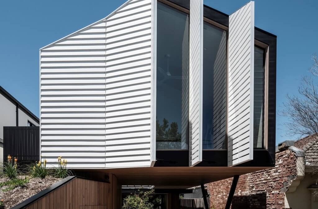 POP-UP House: A Unique Home With Operable Facade & Solar Screens!