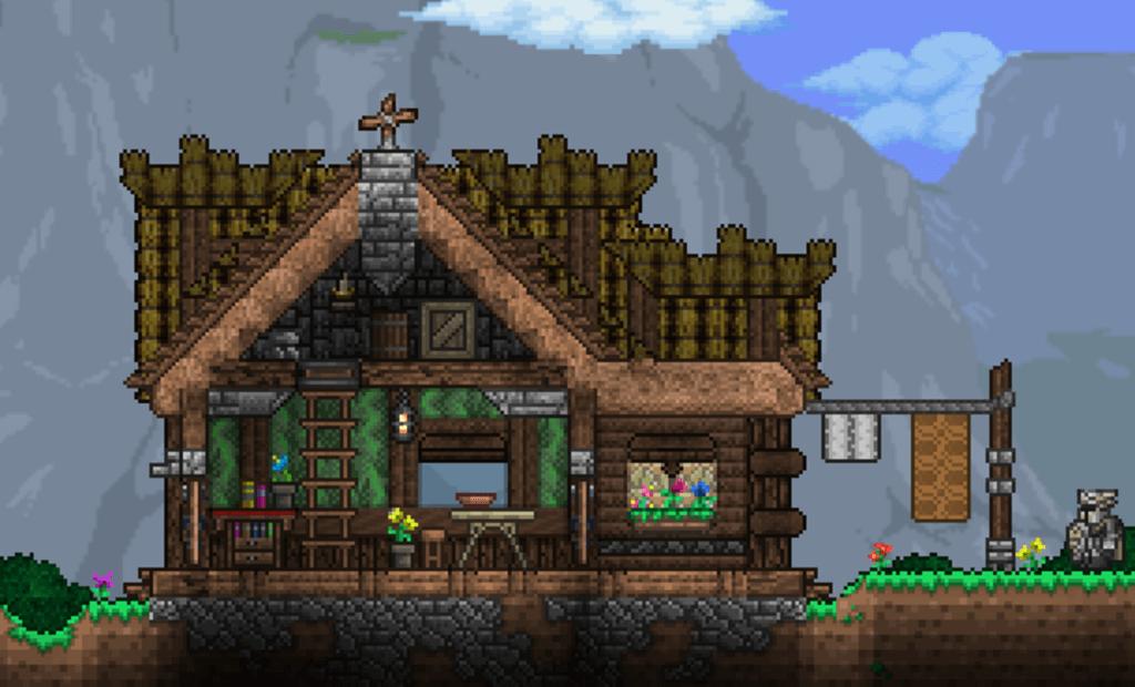 terraria house ideas