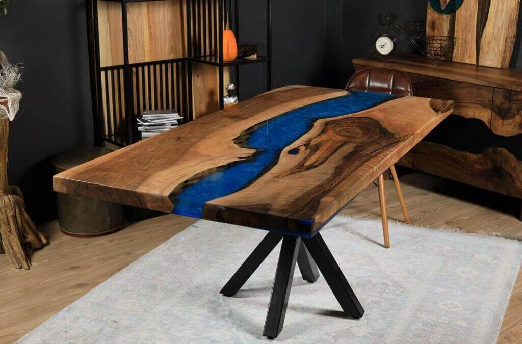 How to Combine Epoxy Resin and Wood for Stunning Furniture