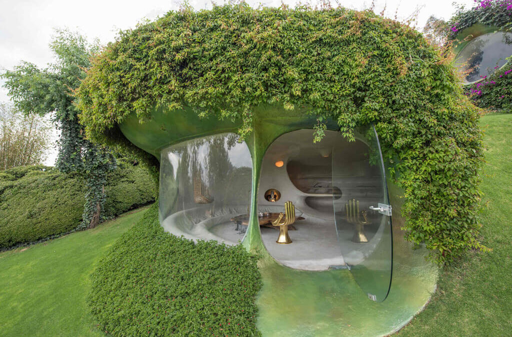 Organic House by Javier Senosiain:  Showcasing Humility in Its Purest Aesthetic Forms