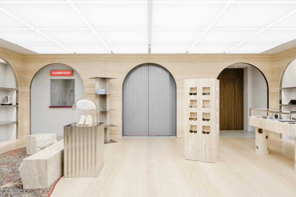 Off-White Flagship Store Paris, AMO Designs