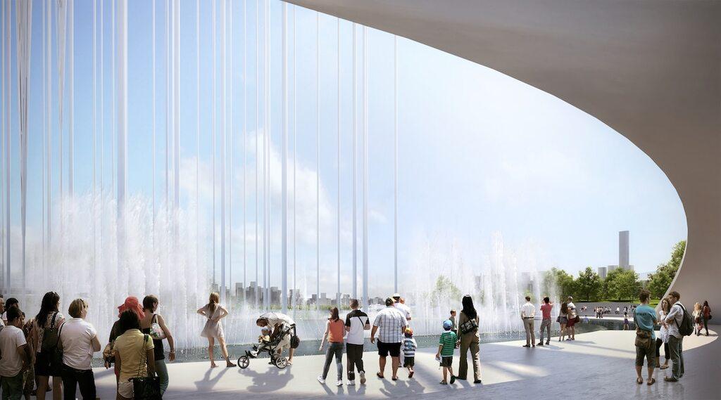 Qianhai New City Center Landmark