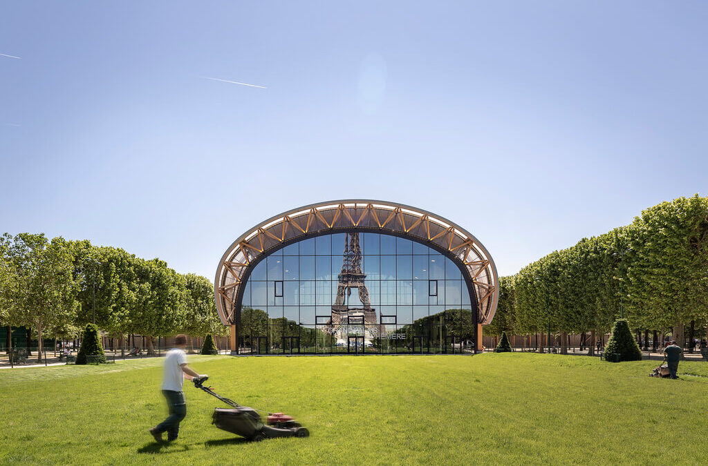 The Grand Palais Ephemere by Wilmotte & Associes