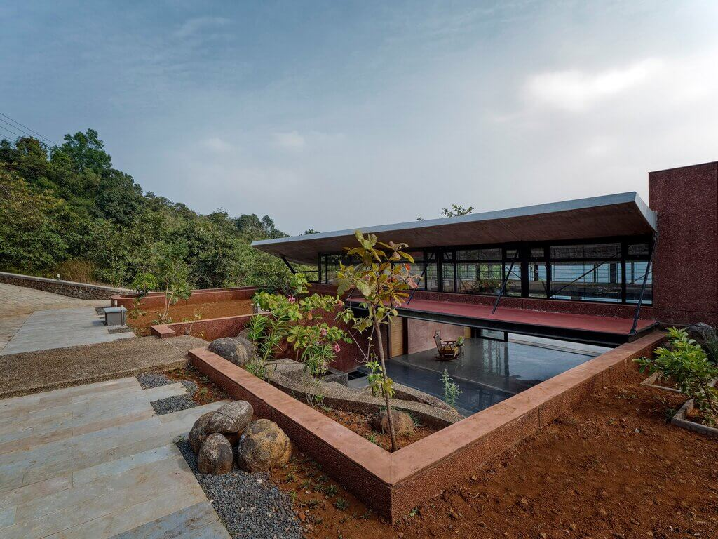the cove house by red brick studio
