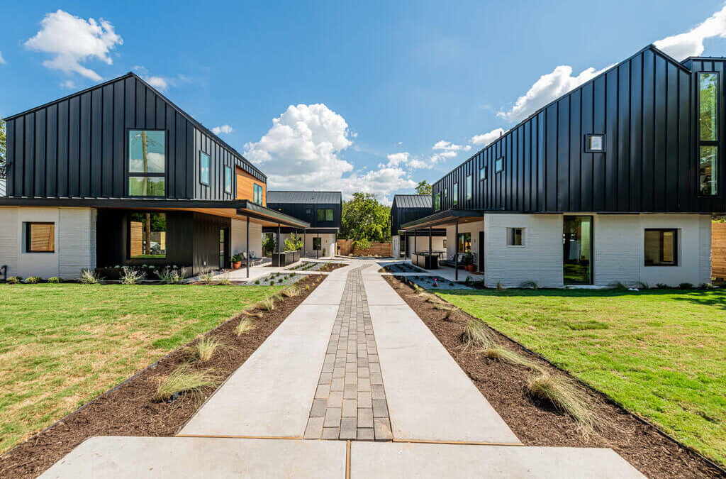 The Next-Gen Residences: 3D-Printed Houses In Austin by Logan Architecture