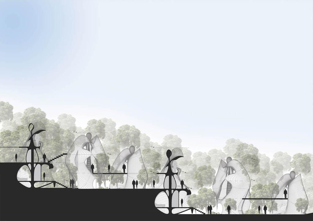MASK Architects Designs World's First Exosteel Modular