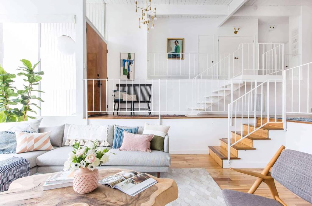 split level house plan