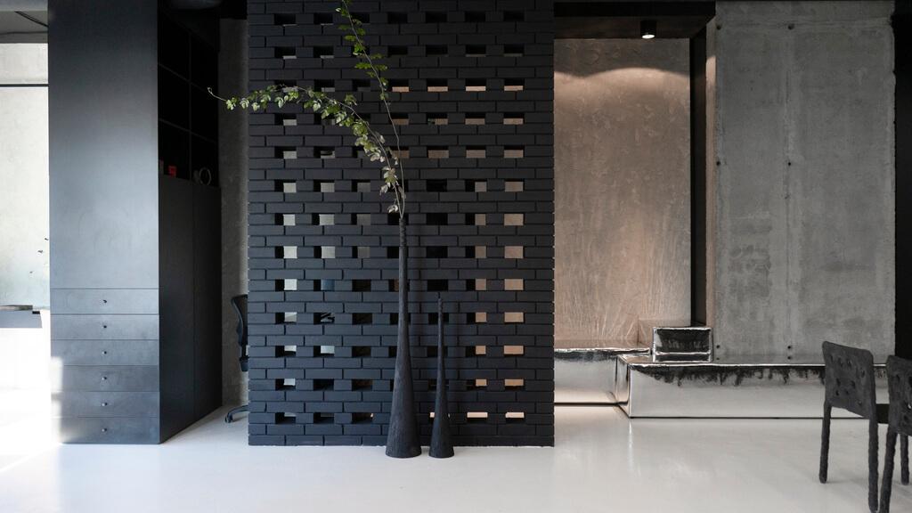 Black Brick House Exteriors