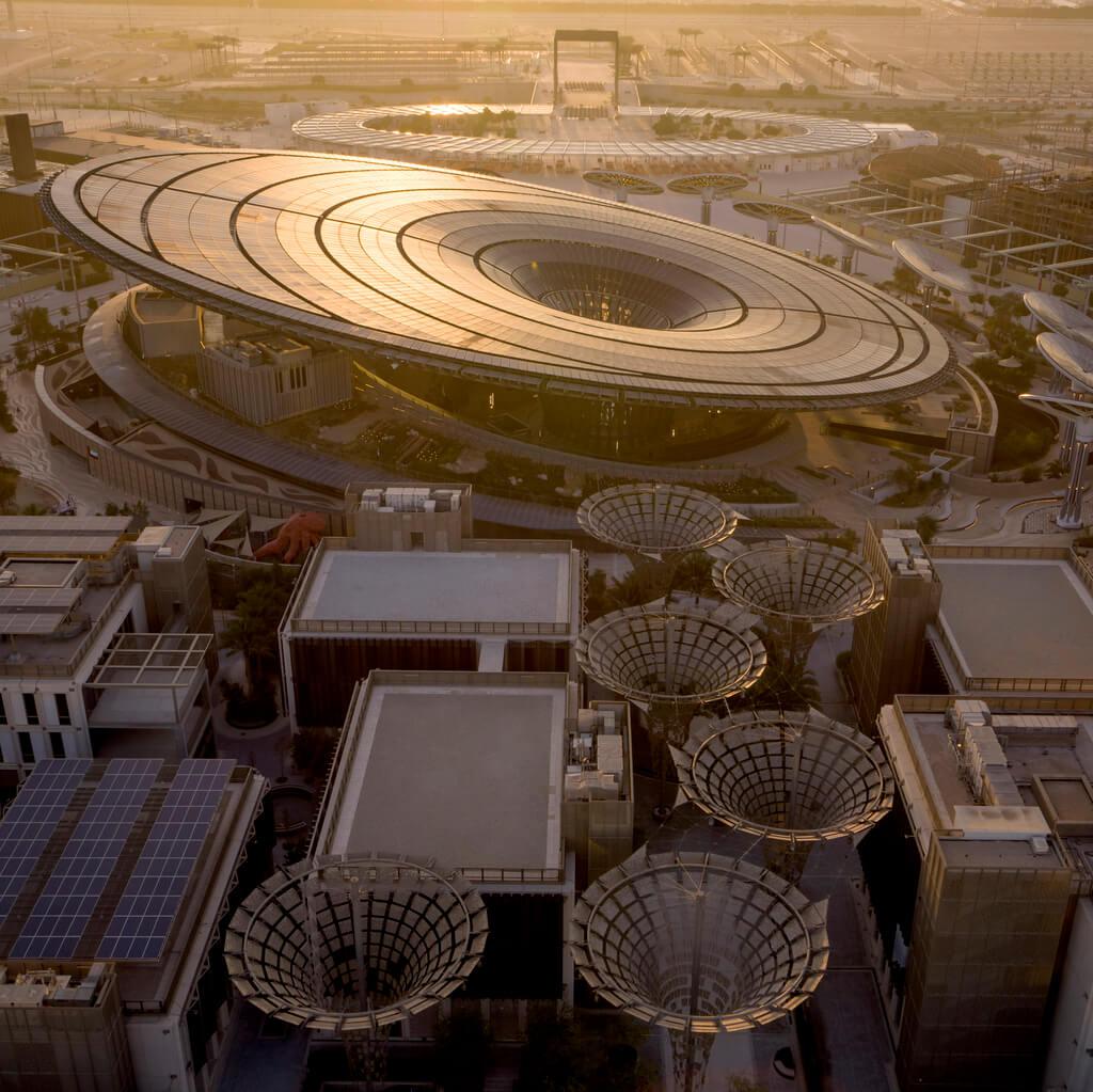 Grimshaw Architects Designs, dubai expo 2020 sustainability pavilion