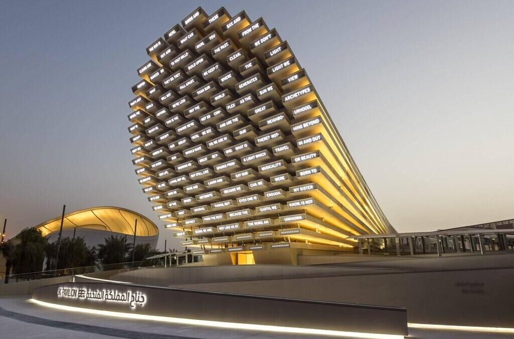 Ai-Generated Collective Poems: UK Pavilion at Expo 2020 Dubai